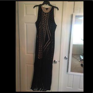 Long Target Maxi Dress